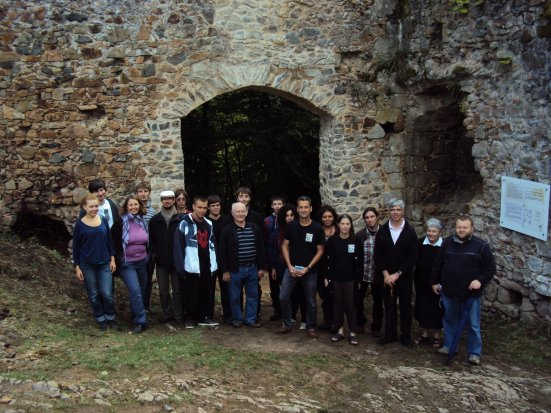 Inauguration de la porte d'accès du château de Montgilbert  / 27 août 2011